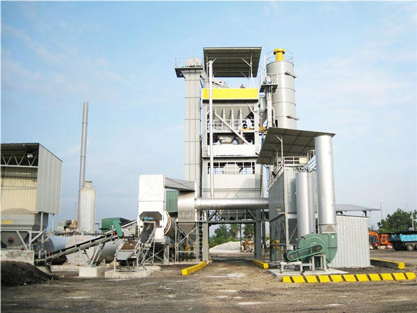 LB2000 stationary asphalt plant