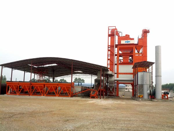 LB2500 medium asphalt mixing plant