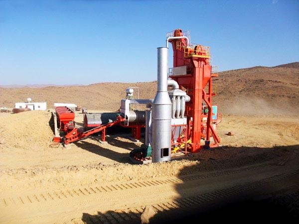 LB500 mini asphalt mixing plant