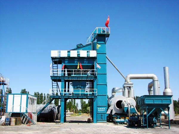 LB800 small asphalt mixing plant