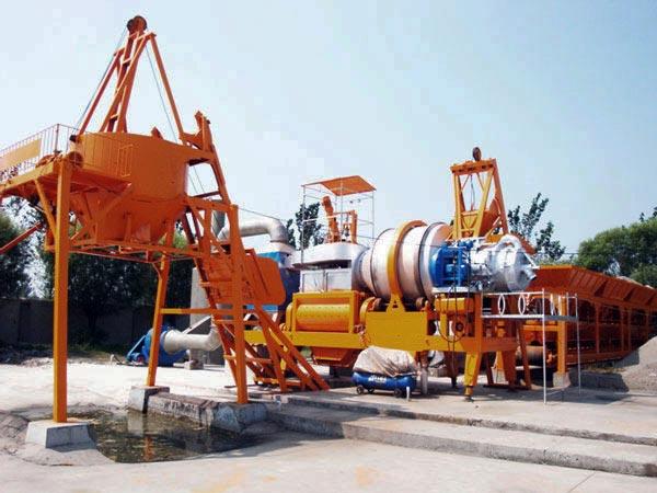 QLB30 mobile asphalt plant