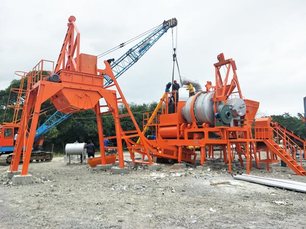 QLB60 mobile asphalt plant for sale