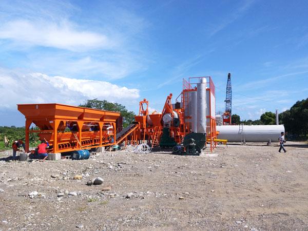 QLB60 mobile asphalt plant