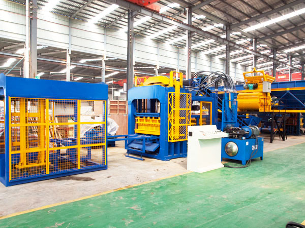ABM-10S hydraulic interlocking brick machine