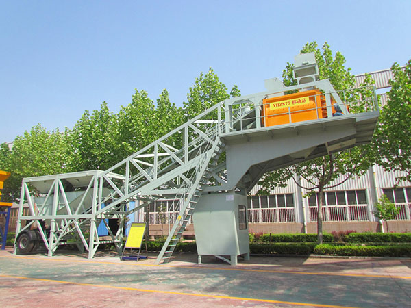 YHZS75 mobile mixing plant