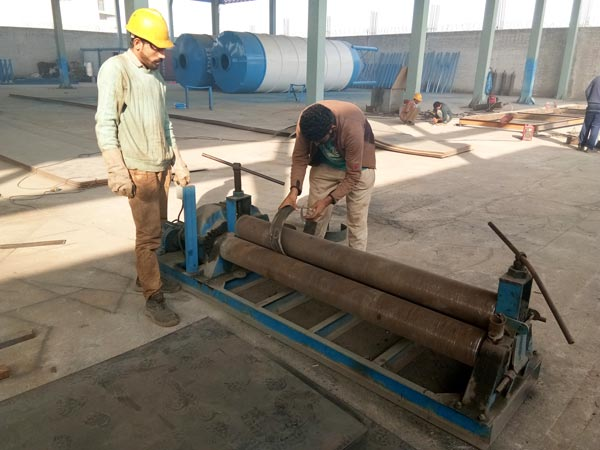 batching plant production