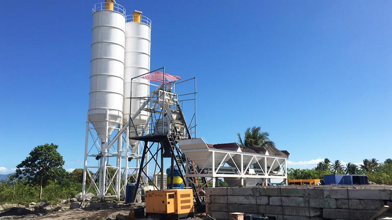 HZS50 batching plant for sale philippines