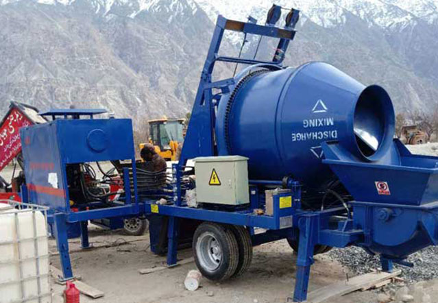 Concrete Mixer Pump Pakistan