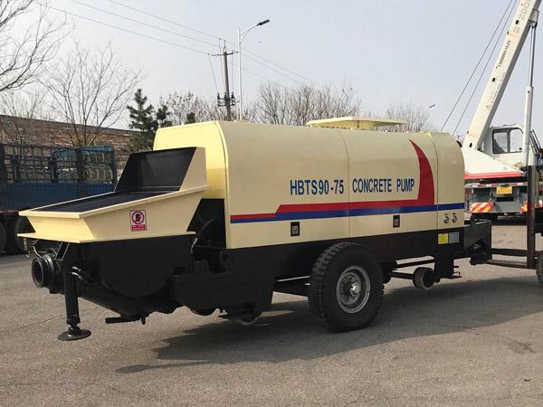 HBTS90-75 concrete pump