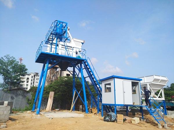AJ-50 concrete plant sri lanka