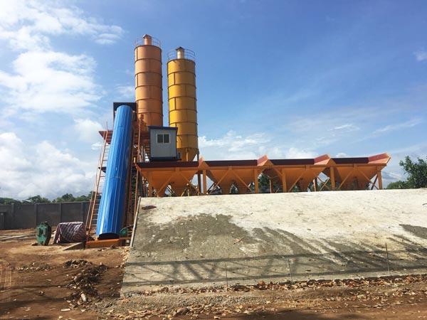 AJ-60 concrete batch plant