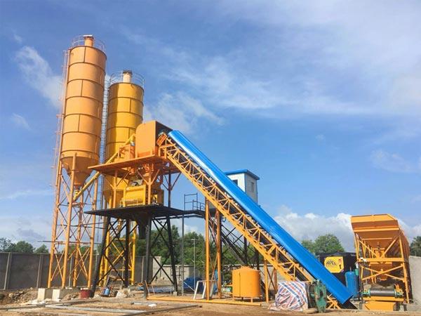 AJ-60 stationary concrete plant Malaysia