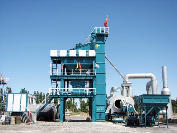 LB1200 asphalt mixing plant