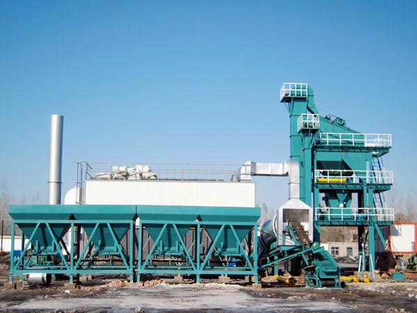 LB1500 stationary apshalt batching plant