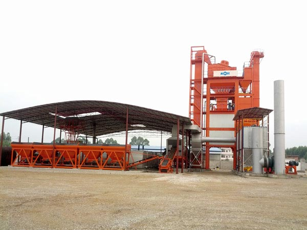 LB2500 stationary asphalt plant