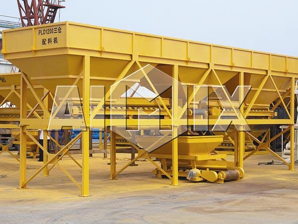 PLD concrete batching machine