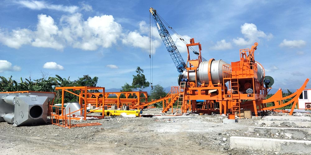 QLBY60 mobile drum plant