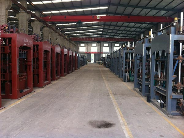 hollow bricks machine factory