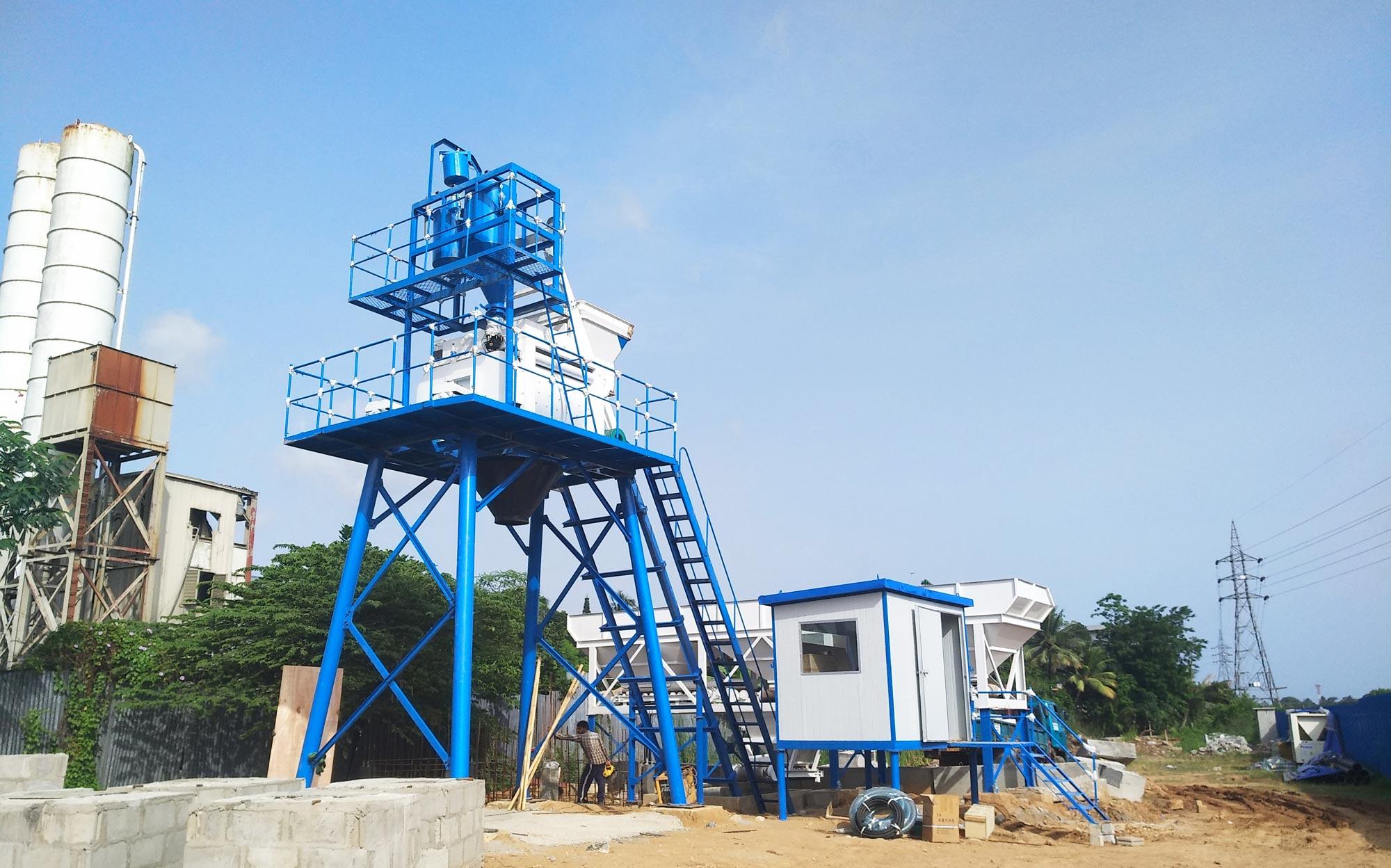 installation of AJ-50 sri lanka