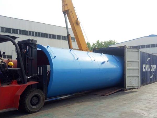 part of LB1200 asphalt mixing plant