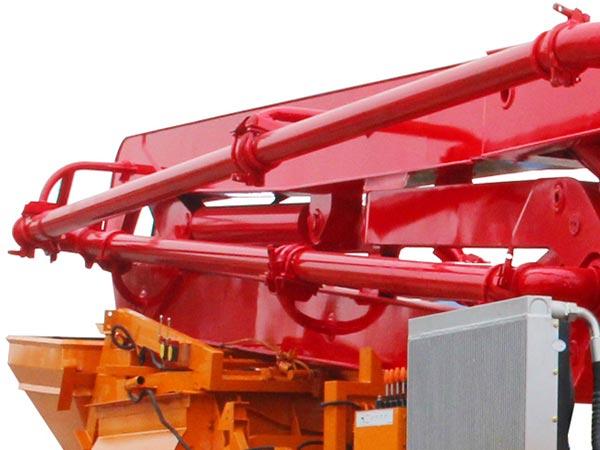 part of boom pump