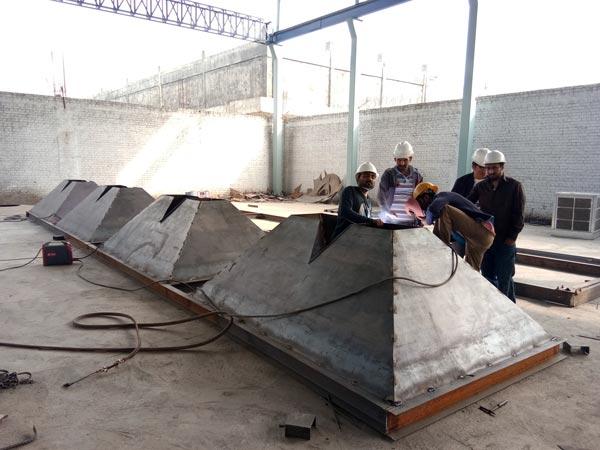 production of concrete plant