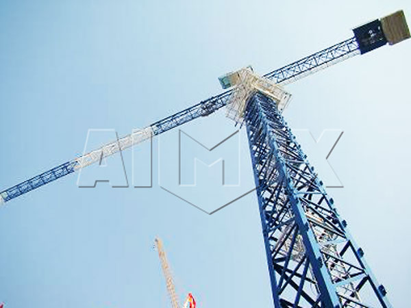 qtz160 FLAT TOP TOWER CRANE