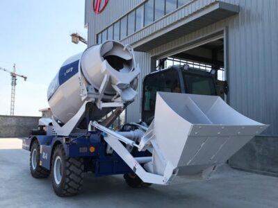 4m3 self loading concrete mixer Uzbekistan