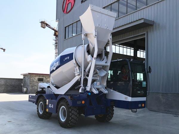 4m3 self loading concrete mixer for sale