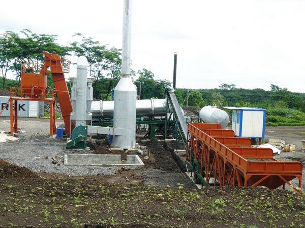 DHB60 continuous asphalt drum plant