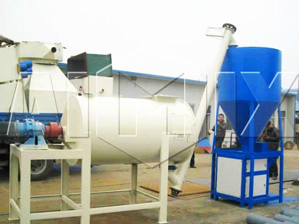 Planta de fabricação de massa de parede GJ10