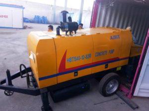 HBTS40R concrete pump shipment