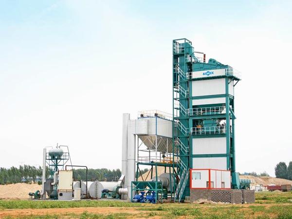 LB2000 stationary asphalt plant