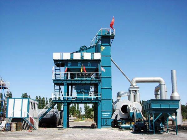 LB800 stationary asphalt mixing plant