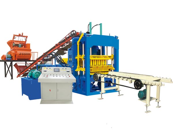 ABM-4S interlocking bricks machine