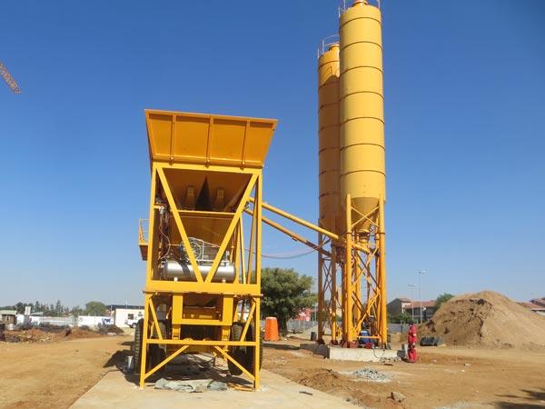 AJY-35 concrete plant in botswana