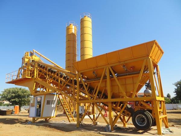 AJY-35 mobile plant in Botswana