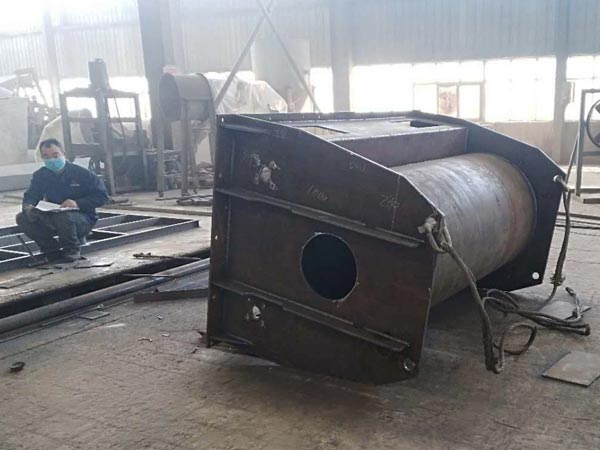 dry mortar mixer without painting