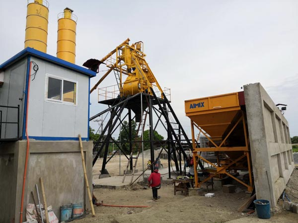 installation of HZS35 in Philippines