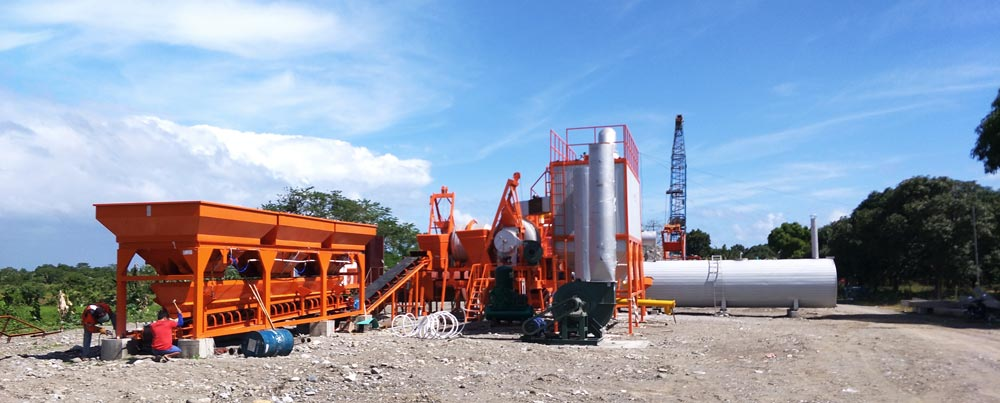 mobile apshalt plant in Philippines