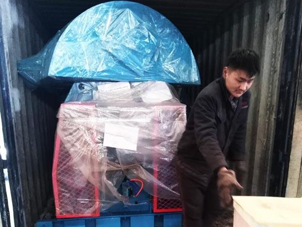 shipment of dry mortar mixer