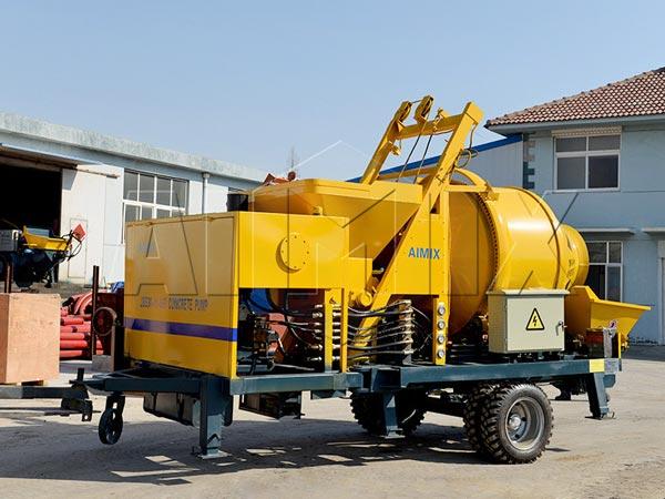 JBS30R diesel concrete mixer pump