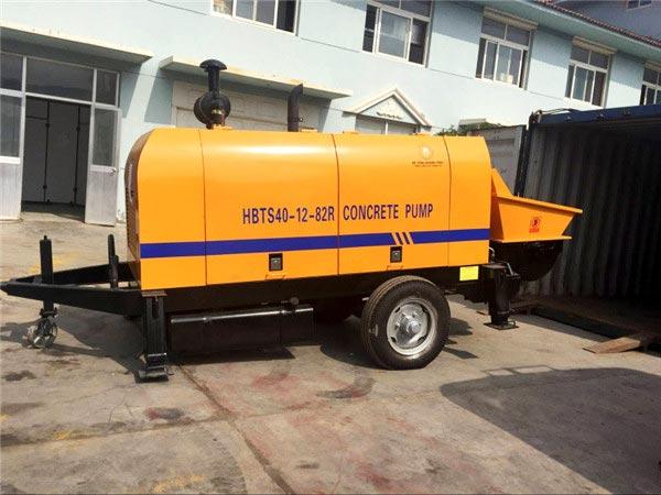 HBTS40-12-82R concrete diesel pump