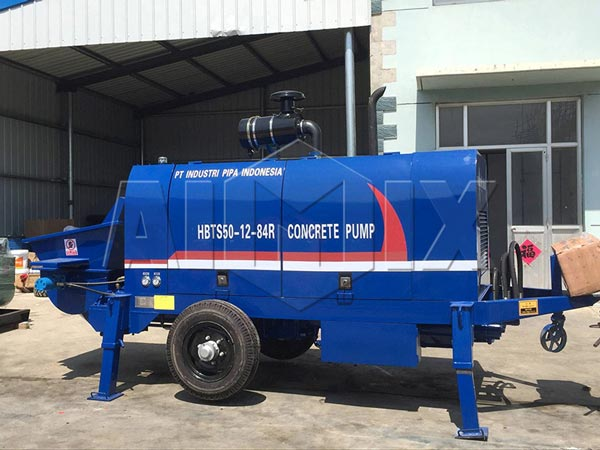 HBTS50R dieseL concrete pump