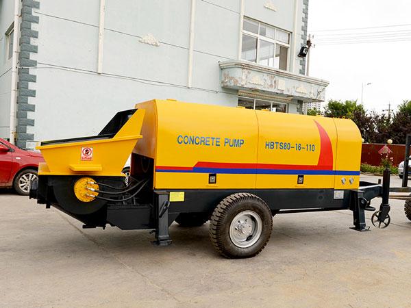 HBTS80 electric concrete pump