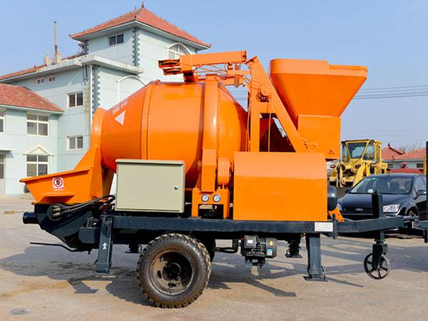 JBS30-JZC350 electric concrete mixer pump