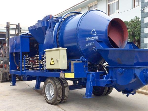 JBS40R diesel cement mixer pump