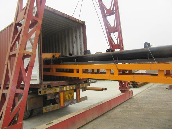 belt conveyor shipment