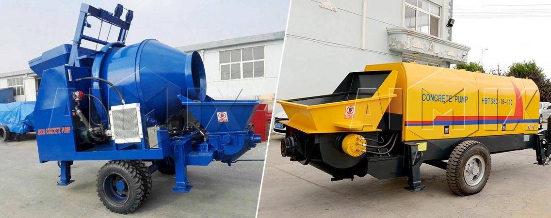 concrete pump machinery in uae