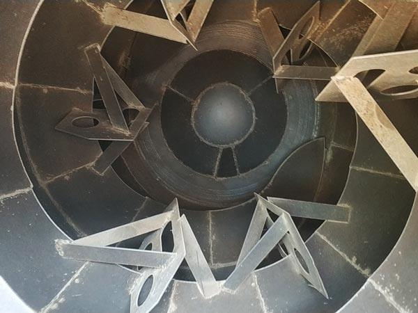 inner of mixer drum